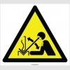 EF2117 - Dikkat Presten Parça Fırlama Tehlikesi İşareti