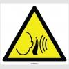 EF2118 - Dikkat Ani Yüksek Gürültü Tehlikesi İşareti