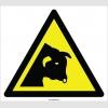 EF2122 - Dikkat Boğa Çıkabilir, Boğa Tehlikesi İşareti
