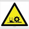 EF2123 - Dikkat Freze Mili Tehlikesi İşareti