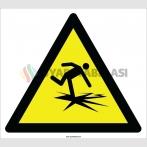 EF2124 - Dikkat Çürük Zemin İşareti
