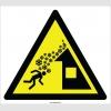 EF2127 - Dikkat Çatıdan Kar Yığını Düşme Tehlikesi İşareti