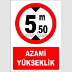 EF1346 - Azami Yükseklik 5.50 metre