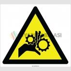EF2130 - Dikkat El Kaptırma Tehlikesi İşareti