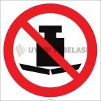 EF2136 - Buraya Ağır Malzeme Koymak Yasaktır İşareti