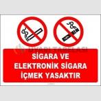 EF2144 - Sigara ve Elektronik Sigara İçmek Yasaktır