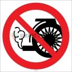 EF2150 - Aracı Çalışır Durumda Tutmak Yasaktır İşareti