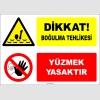 EF2157 - Dikkat Boğulma Tehlikesi, Yüzmek Yasaktır