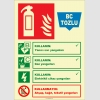 EF2189 - Fosforlu BC Tozlu Yangın Söndürücü