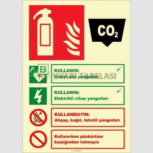 EF2190 - Fosforlu Karbondioksitli Yangın Söndürücü