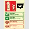EF2191 - Fosforlu Karbondioksitli Yangın Söndürücü