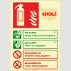 EF2192 - Fosforlu Köpüklü Yangın Söndürücü