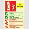 EF2193 - Fosforlu Islak Kimyasallı Yangın Söndürücü
