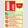 EF2194 - Fosforlu Sulu Yangın Söndürücü