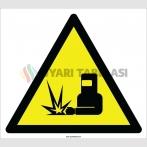 EF2199 - Dikkat Kaynak Faaliyeti Var İşareti