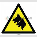 EF2201 - Dikkat Köpekler Var İşareti
