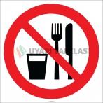EF2217 - Yemek ve İçmek Yasaktır İşareti
