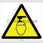 EF2206 - Dikkat Baş Çarpma Tehlikesi İşareti