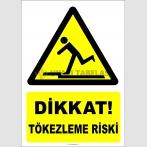 EF2209 - Tökezleme düşme riski