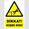 EF2211 - Dikkat! Düşme Riski