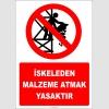 EF2229 - İskeleden Malzeme Atmak Yasaktır
