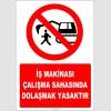 EF2230 - İş makinası çalışma sahasında dolaşmak yasaktır