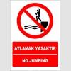 EF2260 - Türkçe İngilizce Atlamak Yasaktır, No Jumping