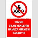 EF2323 - Yüzme Bilmeyenlerin Havuza Girmesi Yasaktır