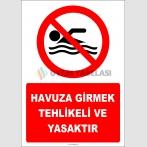 EF2333 - Havuza Girmek Tehlikeli ve Yasaktır