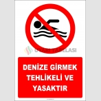 EF2334 - Denize Girmek Tehlikeli ve Yasaktır