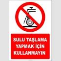 EF2352 - Sulu taşlama yapmak için kullanmayın