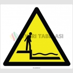 EF2361 - Dikkat Sığ Su İşareti