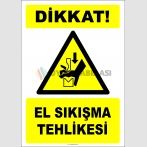 EF2440 - Dikkat! El Sıkışma Tehlikesi