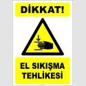 EF2443 - Dikkat! El Sıkışma Tehlikesi