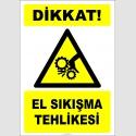 EF2445 - Dikkat! El Sıkışma Tehlikesi