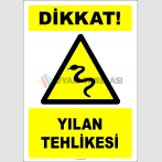 EF2488 - Dikkat! Yılan Tehlikesi