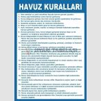 EF2510 -  Havuz Kuralları