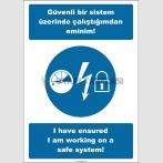 EF2519 - Türkçe İngilizce Güvenli Bir Sistem Üzerinde Çalıştığımdan Eminim