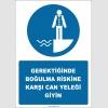EF2571 - Gerektiğinde Boğulma Riskine Karşı Can Yeleği Giyin