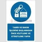EF2575 - Tamir ve Bakım İşlerine Başlamadan Önce Kilitleme ve Etiketleme Yapın