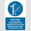 EF2579 - Yüksek Gerilim Havai Hattında İşe Başlamadan Önce Topraklama ve Kısa Devre Ekipmanını Kullanarak Topraklamasını Yapın