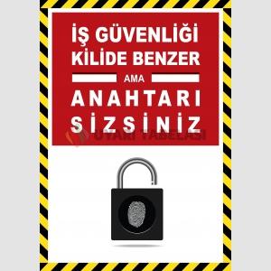 EF2587 - İş Güvenliği Kilide Benzer Ama Anahtarı Sizsiniz