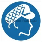 EF2622 - Koruyucu Kep/Şapka İşareti/Levhası/Etiketi