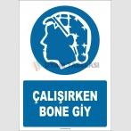 EF2625 - Çalışırken Bone Giy