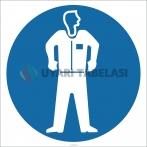 EF2628 - Koruyucu Giysi İşareti/Levhası/Etiketi