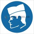 EF2632 - Koruyucu Kep/Şapka İşareti/Levhası/Etiketi