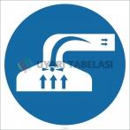 EF2640 - Havalandırma İşareti/Levhası/Etiketi