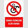 EF2660 - Dönen Cisimlere Elini Sokma