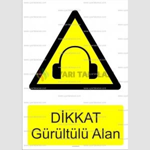 GI1063 - Dikkat gürültülü alan