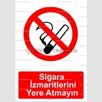 GI 2007 - Sigara izmaritlerini yere atmayın